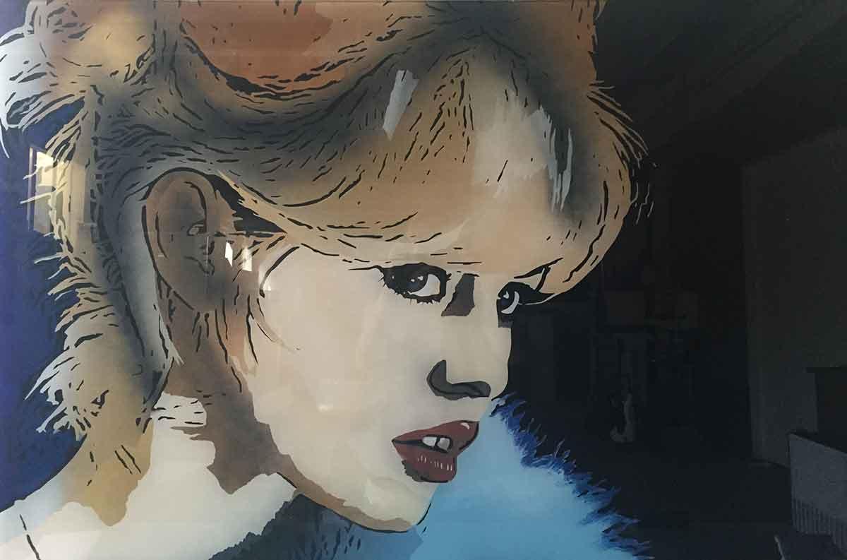 Brigitte Bardot création Jean-Soguero Design